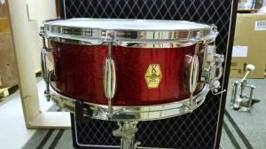 """K-Drum Modell E 14""""x5,5"""" 8-lager + 8-lager stödsarg."""