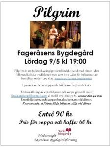 Pilgrim Fageråsens bygdegård